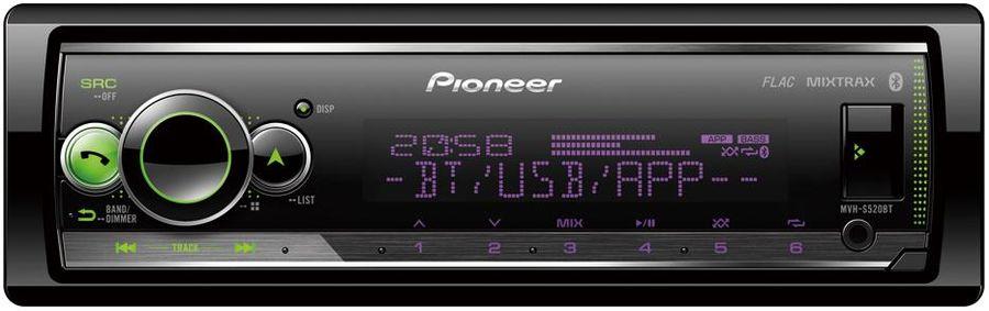 USB/SD-ресиверы (без CD)  Pioneer MVH-S520BT