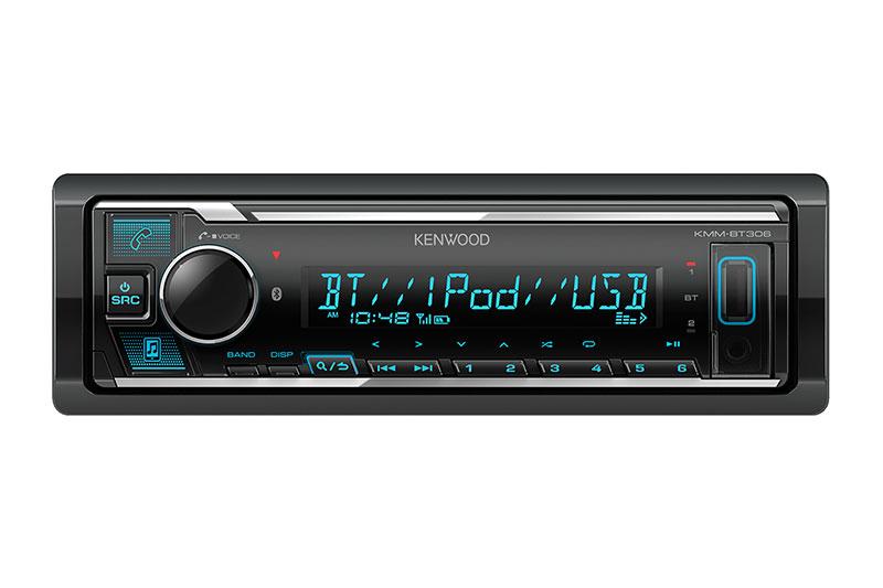 Ресивер MP3  без CD Kenwood KMM-BT306